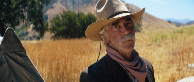 Lee Hayden (Sam Elliott) repeatedly journeys to the set of his career-defining role in his mind.
