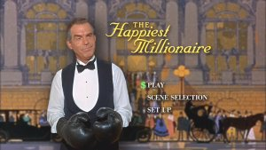 The Happiest Millionaire DVD's Main Menu