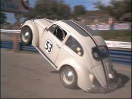 No slow ride for Herbie!