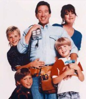 "Season One publicity still for ""Home Improvement"", which will debut on DVD November 2004. Clockwise from center: Tim Allen, Patricia Richardson, Taran Noah Smith, Jonathan Taylor Thomas, and Zachery Ty Bryan are the Taylor family."