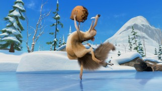 As always, Scrat the squirrel struggles to get -- and hold onto -- an acorn, though this time his travails are set to Tchaikovsky's The Nutcracker Suite.