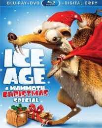 Ice Age: A Mammoth Christmas Special Blu-ray + DVD + Digital Copy combo pack cover art -- click to buy from Amazon.com