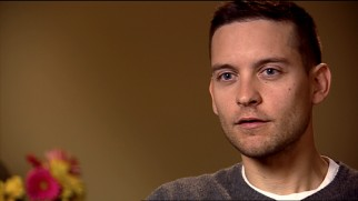 "Gaunt for ""Brothers"", Tobey Maguire is one of six cast members who look back in ""Weathering the Storm."""