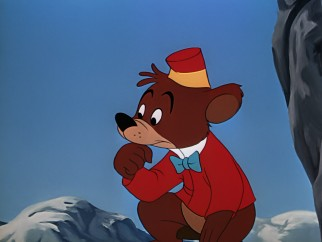 "Escaped circus performer Bongo Bear has his heart melted and then broken in his animated segment of ""Fun & Fancy Free."""
