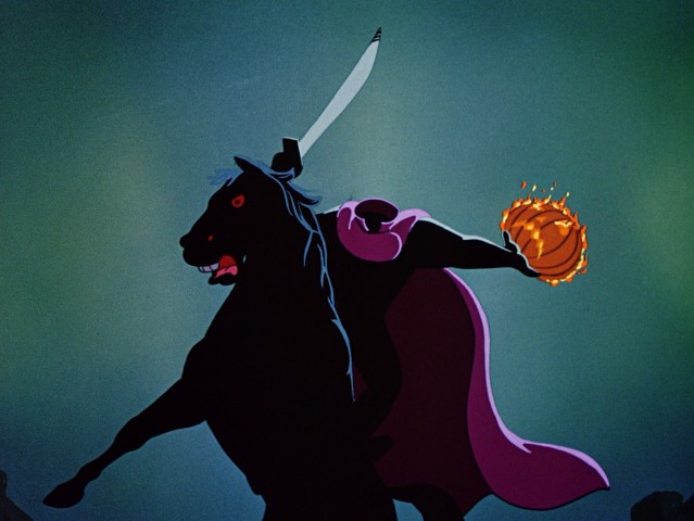 "The Headless Horseman comes riding for Ichabod Crane in the haunting finale of ""The Adventures of Ichabod and Mr. Toad."""