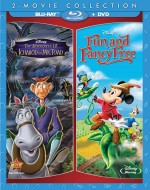 The Adventures of Ichabod and Mr. Toad & Fun and Fancy Free 2-Movie Collection Blu-ray + DVD cover art -- click to buy from Amazon.com