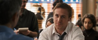 "Ryan Gosling plays ambitious deputy campaign manager Stephen Meyers in ""The Ides of March."""