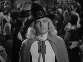 The actions of luxuriously-haired pilgrim Jonathan Wooley (Fredric March) will have lasting consequences for he and his male descendants to come.
