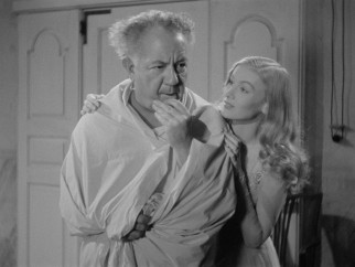 Assuming a human form, Daniel (Cecil Kellaway) tries to help Jennifer (Veronica Lake) out of her romantic pickle.