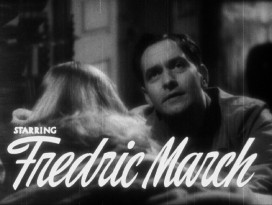"Fredric March takes top billing in ""I Married a Witch"" and this rough-looking trailer that promotes it."