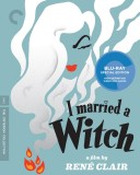 I Married a Witch: The Criterion Collection Blu-ray Disc cover art -- click to buy from Amazon.com