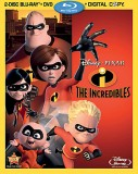 The Incredibles: 4-Disc Blu-ray + DVD + Digital Copy Combo cover art - click to buy from Amazon.com