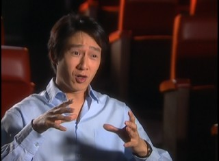 "An all grown-up Short Round (Jonathan Ke Quan) reflects on the first of his two big Steven Spielberg movies in ""The Making of 'The Temple of Doom.'"""