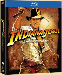 Indiana Jones: The Complete Adventures Blu-ray Collection box art -- click to buy from Amazon.com