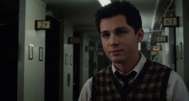 "Adapted from Philip Roth's novel, ""Indignation"" centers on Marcus Messner (Logan Lerman), a young man from Newark trying to identify himself apart from his family's Jewish faith as a freshman at a small liberal arts college in Ohio."