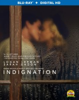 Indignation: Blu-ray + Digital HD cover art -- click to buy from Amazon.com