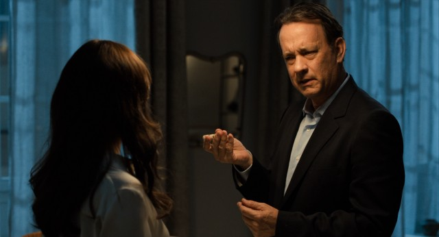 "Robert Langdon (Tom Hanks) returns with a new haircut and memory problems in ""Inferno."""