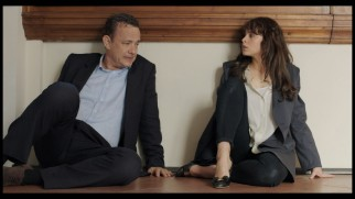 Robert Langdon (Tom Hanks) and Sienna Brooks (Felicity Jones) catch their breath in this deleted scene.