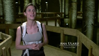 "Ana Ularu discusses her assassin character in ""'Inferno' Around the World."""