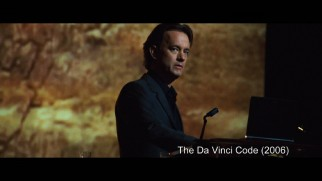 "Ten years younger and his hair several inches longer, the Robert Langdon of ""The Da Vinci Code"" is seen in ""A Look at Langdon."""