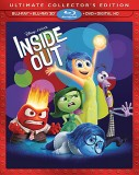 Inside Out: Blu-ray + DVD + Digital HD combo pack cover art