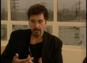 Hoo-ah! A goateed Al Pacino discusses reuniting with Michael Mann in the production featurette.