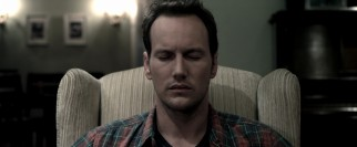 "Josh Lambert (Patrick Wilson) leaves his body here, while his soul journeys to a dark dimension in the final act of ""Insidious."""