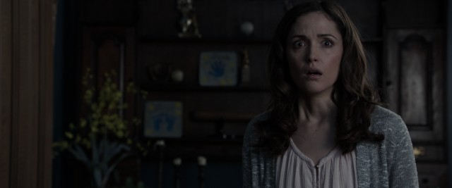 "Renai Lambert (Rose Byrne) is again disturbed by what she sees inside her house in ""Insidious: Chapter 2."""