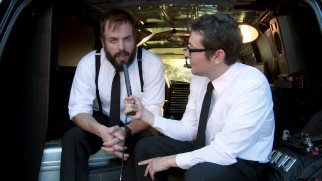 Writer/actor Leigh Whannell interviews his fellow Australian ghostbuster Angus Sampson.