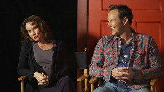 "Barbara Hershey and Patrick Wilson are among those taking part in ""Work in Progress: On Set Q & A."""