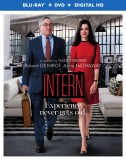 The Intern: Blu-ray + DVD + Digital HD combo pack cover art