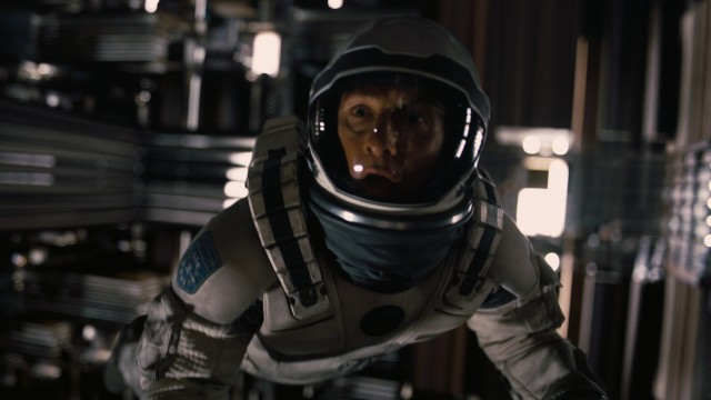 "Cooper (Matthew McConaughey) visits an unexpectedly familiar place in the climax of ""Interstellar."""