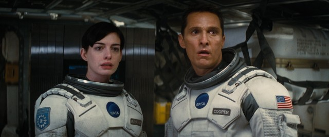 Amelia Brand (Anne Hathaway) and Cooper (Matthew McConaughey) work together on the Lazarus Project, a mission designed to find another planet to sustain human existence.