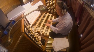 Organ soloist Roger Sayed provided the heart of Hans Zimmer's score.