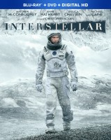 Interstellar: Blu-ray + Digital HD combo pack cover art - click to buy from Amazon.com