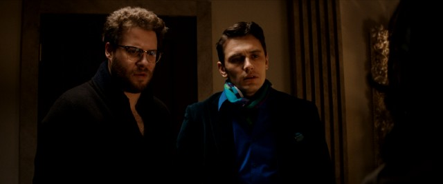 """The Interview"" stars Seth Rogen and James Franco as American journalists who land an exclusive interview with North Korea's dictator."