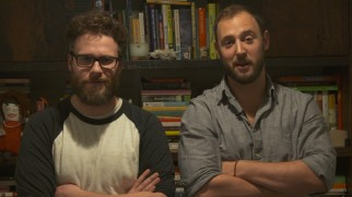Directors Seth Rogen and Evan Goldberg welcome you in the closest the disc gets to acknowledging its controversy.