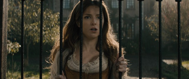 Cinderella (Anna Kendrick) wishes to go to the festival.