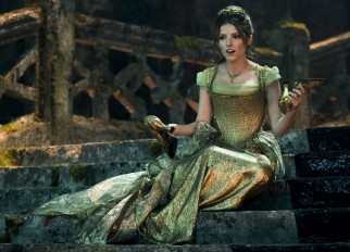 Anna Kendrick plays Cinderella, a servant turned princess who twice crosses paths with the Baker's wife upon leaving a royal ball.