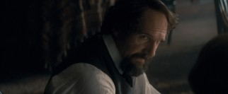 Charles Dickens (Ralph Fiennes) uses finesse to set boundaries for him and Nelly.