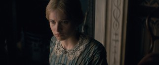 Nelly (Felicity Jones) holds mixed feelings about her relationship with Dickens.