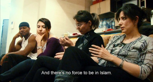Three women Kevin befriends provide a female perspective on Iran's restrictive Islamic laws.