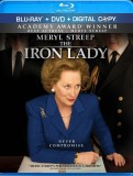 The Iron Lady: DVD + Blu-ray + Digital Copy combo pack cover art -- click to buy from Amazon.com