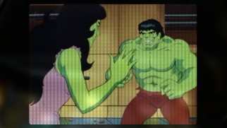 She-Hulk just really wants to say hi to Hulk in this Inter-Missions Marvel Mash-Up.