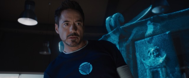 "Like a modern-day Sherlock Holmes, Tony Stark (Robert Downey Jr.) uses three-dimensional crime scene recreation to figure out what he's up against in #51, ""Iron Man 3."""