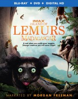 Island of Lemurs: Madagascar Blu-ray 3D/2D + DVD + Digital HD combo pack cover art - click to buy from Amazon.com