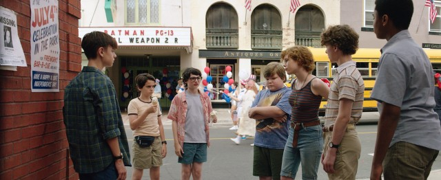 """It"" effortlessly defines and distinguishes a group of seven youths as its protagonists."