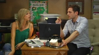 Inspired by a Season 6 storyline, Dee (Kaitlin Olson) and Dennis (Glenn Howerton) actually supply three video podcasts on the disc, plus a fourth downloadable via BD-Live.
