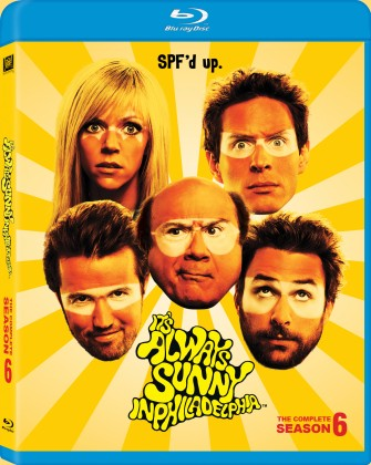 It's Always Sunny in Philadelphia: The Complete Season 6 Blu-ray cover art - click to buy from Amazon.com