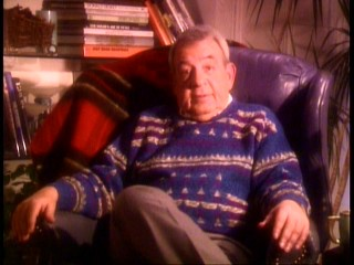"Mr. C (Tom Bosley) oozes warmth as the comfortable host of ""The Making of 'It's a Wonderful Life."""